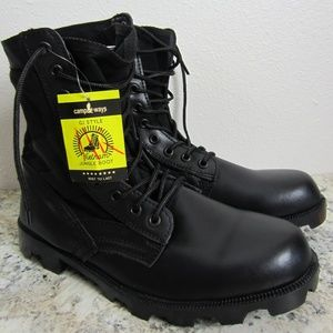 Campways G.I. Jungle Boot Black Sz 11R
